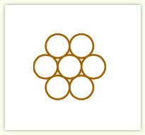 7股绞线结构图