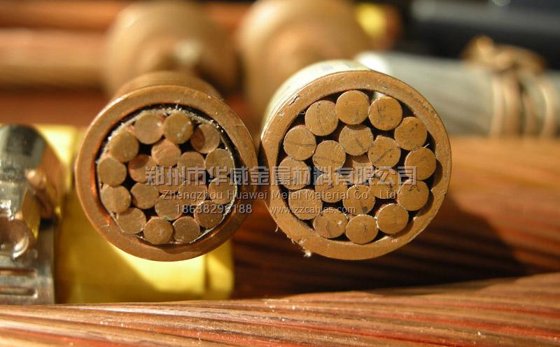 硬铜绞线的结构/截面
